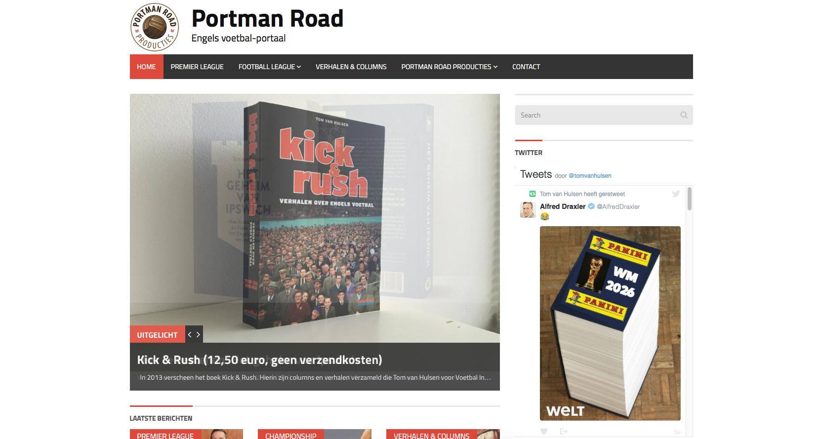 Portmanroad.nl